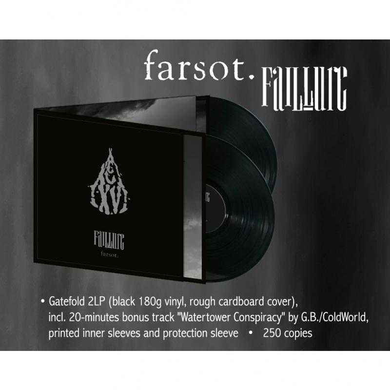 Farsot - FAIL·LURE Vinyl 2-LP  |  black