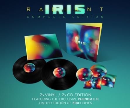 IRIS - Radiant Vinyl 2-LP Gatefold + 2-CD