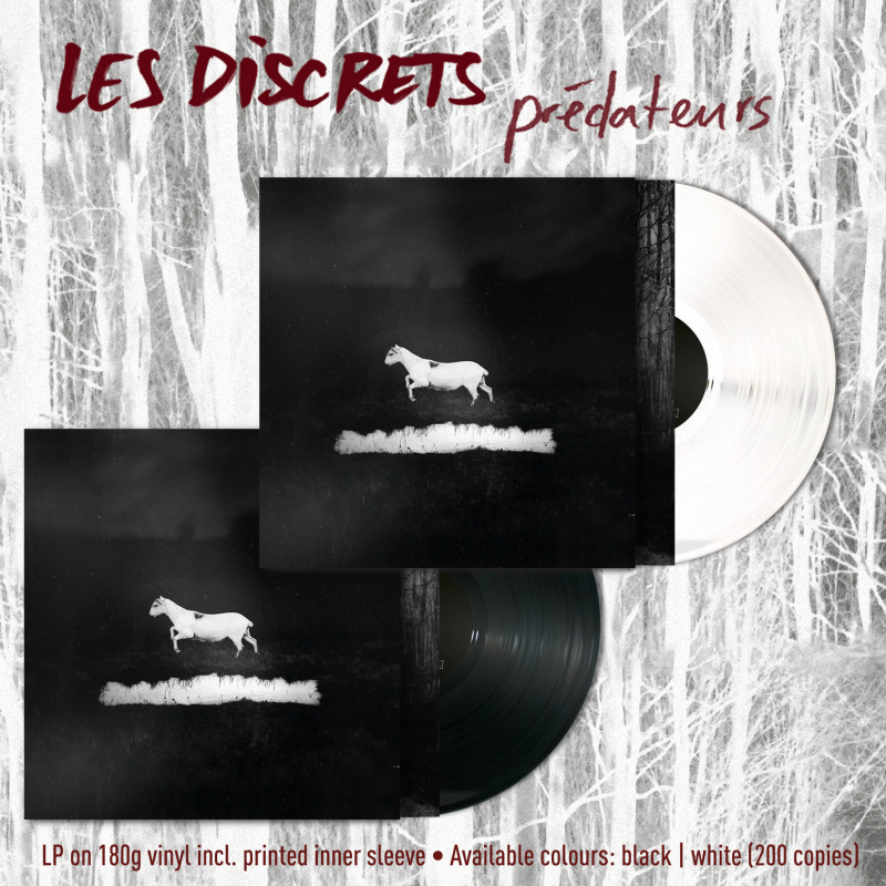 Les Discrets - Prédateurs Vinyl LP  |  black
