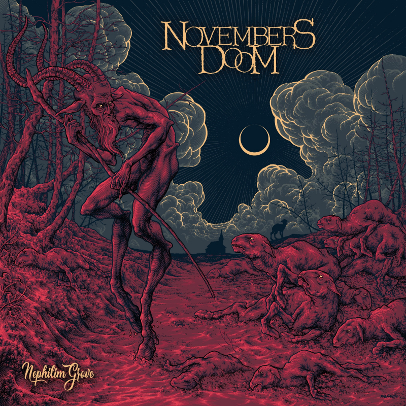 Novembers Doom - Nephilim Grove Book 2-CD