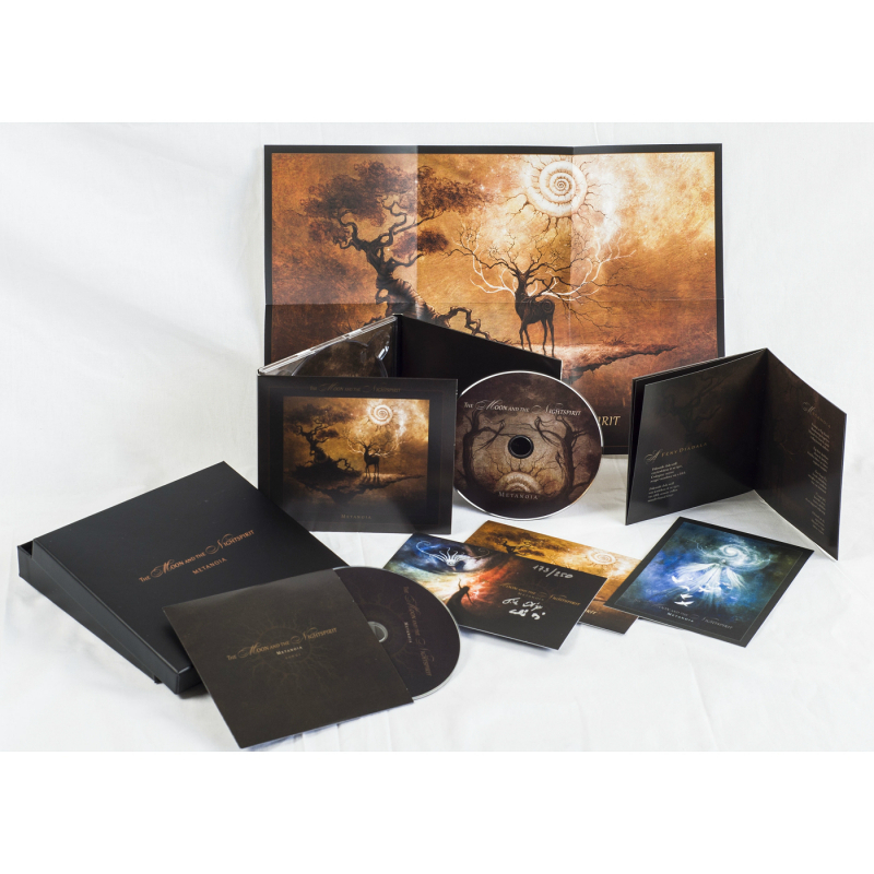 The Moon And The Nightspirit - Metanoia CD-2 Box