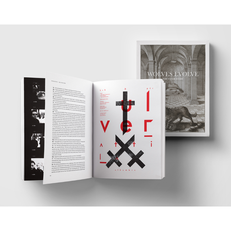 Ulver / Espedal, Tore Engelsen - Wolves Evolve: The Ulver Story Book