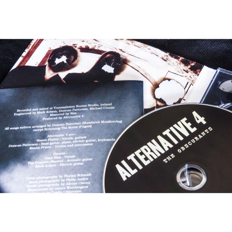 Alternative 4 - The Obscurants CD Digipak