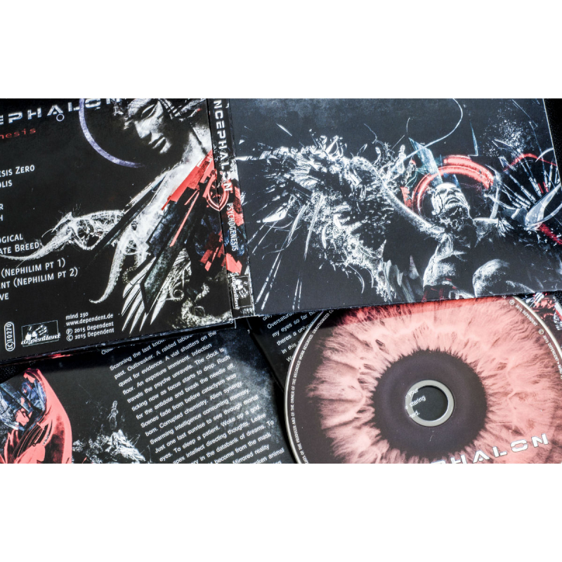 Encephalon - Psychogenesis CD Digipak
