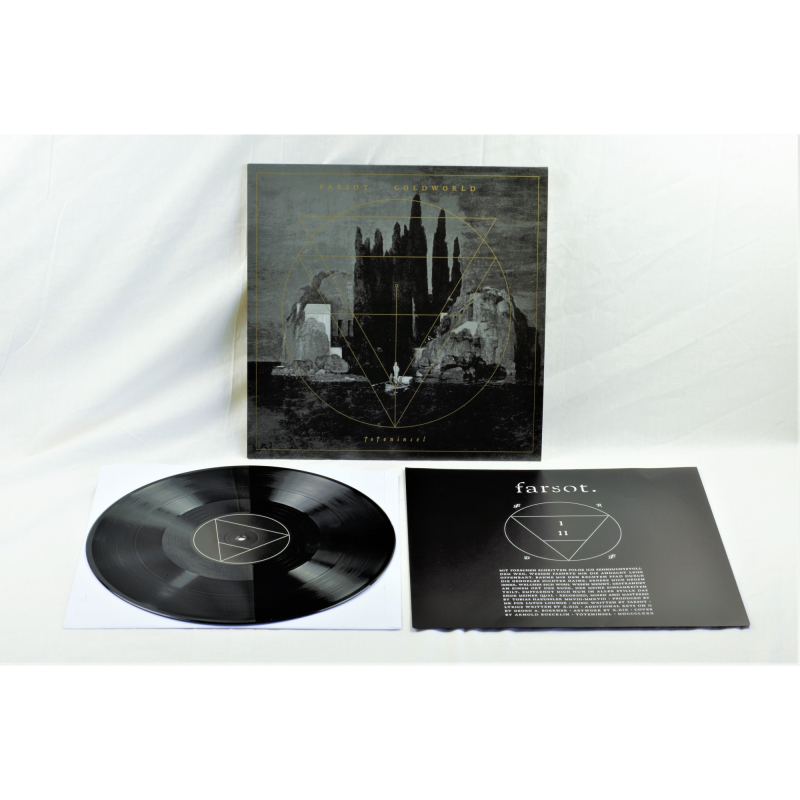 Farsot - Toteninsel (Farsot / Coldworld) Vinyl LP  |  black
