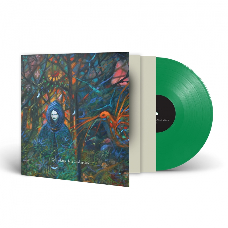 Sol Invictus - In a Garden Green Vinyl Gatefold LP  |  Green Transparent