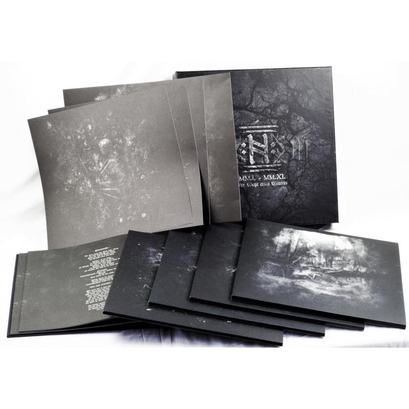 Helrunar - MM.I. - MM.XI. - Vier Wege eines Winters Vinyl Box     black