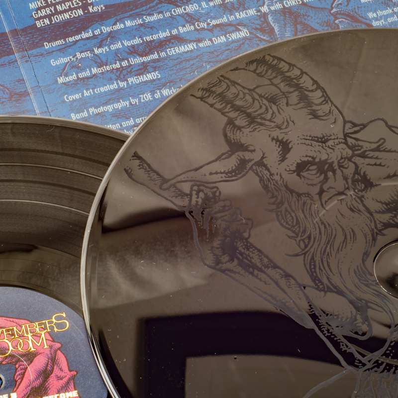 Novembers Doom - Nephilim Grove Vinyl 2-LP Gatefold     Black