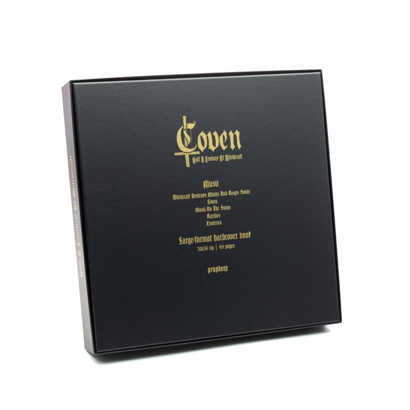 Coven - Half A Century Of Witchcraft Vinyl Box  |  Black
