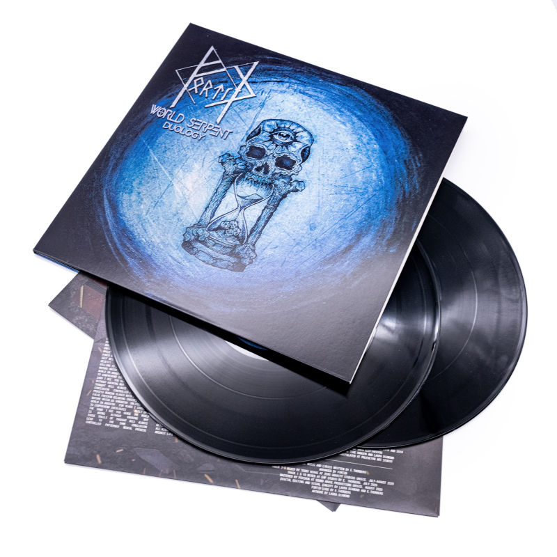 Fortíð - World Serpent Vinyl 2-LP Gatefold  |  Black